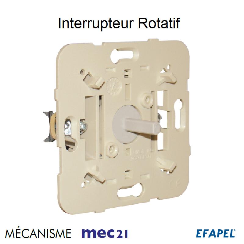 Mécanisme d\'Interrupteur Rotatif