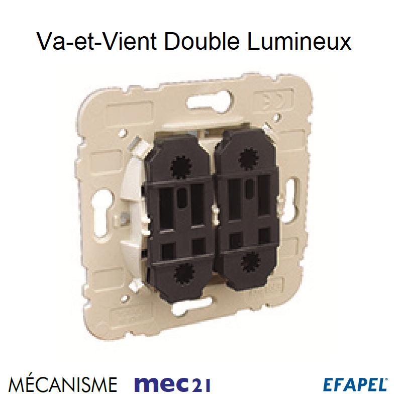 Mécanisme Va-et-Vient Double Lumineux