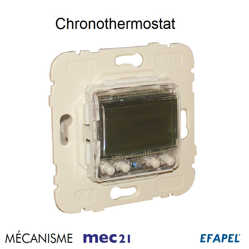 Mécanisme de Chronothermostat Multifonctionnel