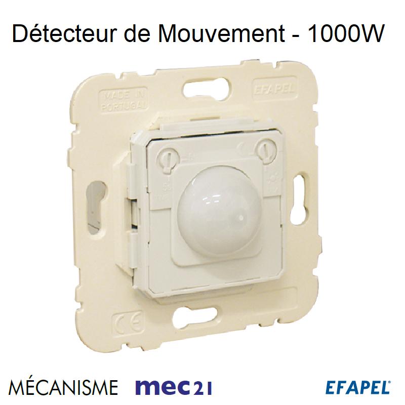 Mécanisme Détecteur de Mouvement - 1000W
