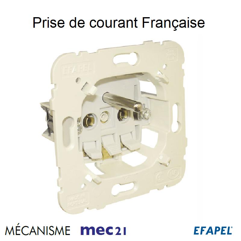 Mécanisme Prise 2P+T