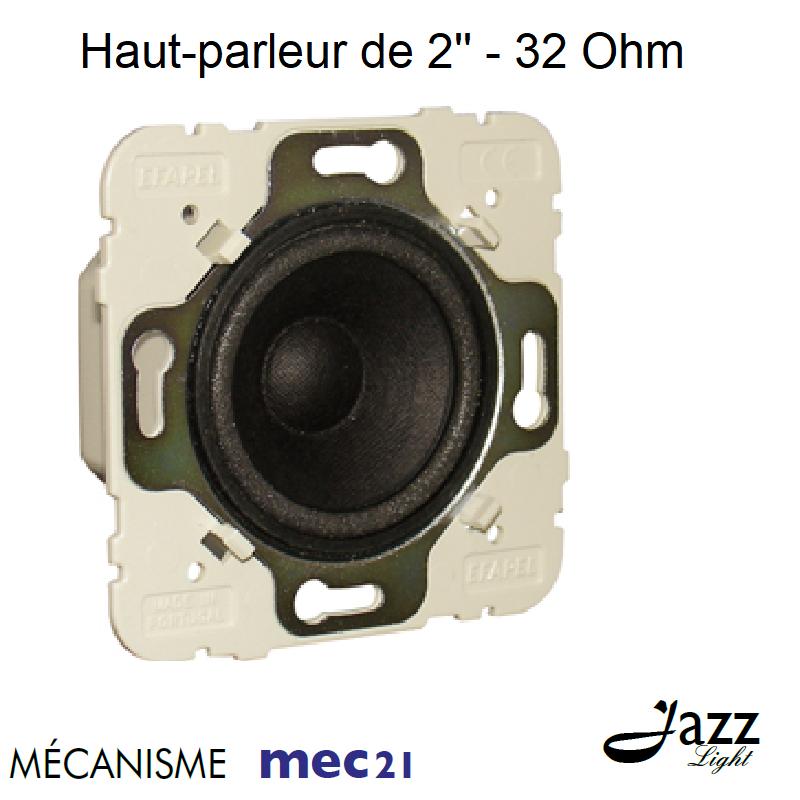 Haut-parleur de 2\'\' - 32 Ohm - mec21