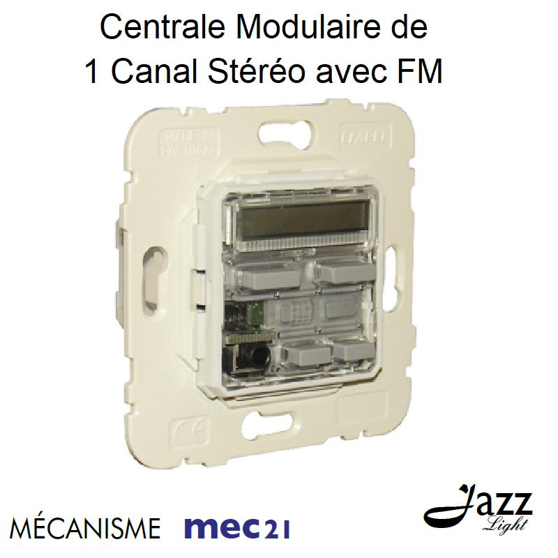 Mécanisme de centrale Modulaire de 1 Canal Stéréo avec FM