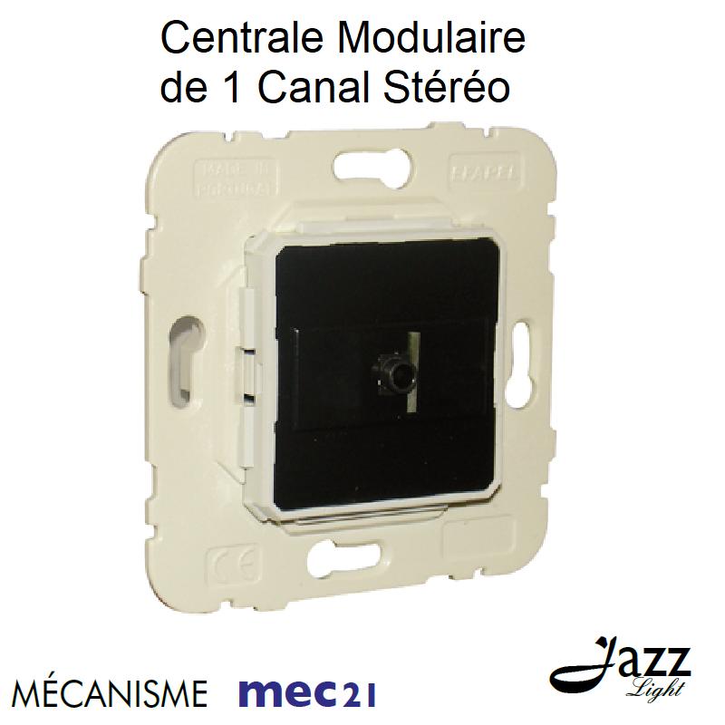 Mécanisme de Centrale Modulaire de 1 Canal Stéréo