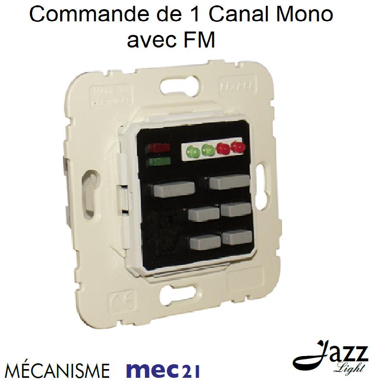 Mécanisme de Commande de 1 Canal Mono avec FM