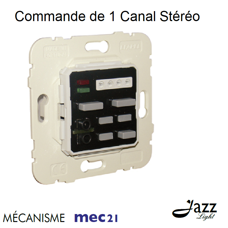 Mécanisme de Commande de 1 Canal Stéréo