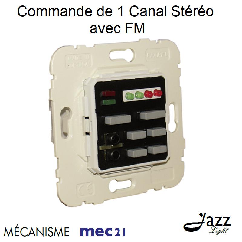 Mécanisme de Commande de 1 Canal Stéréo avec FM