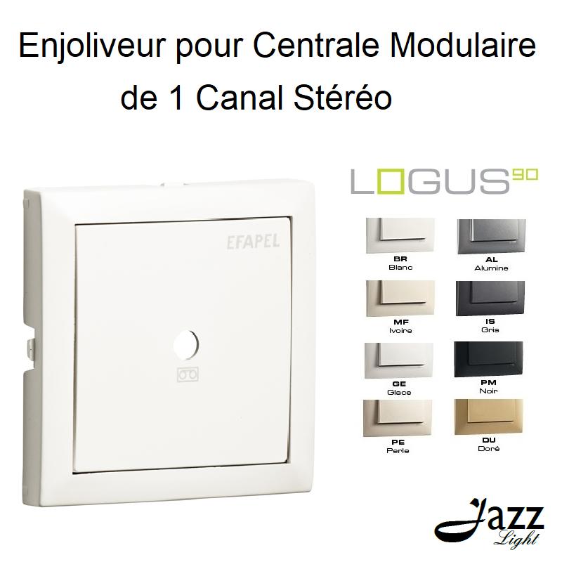 Enjoliveur pour Centrale Modulaire de 1 Canal Stéréo - LOGUS 90