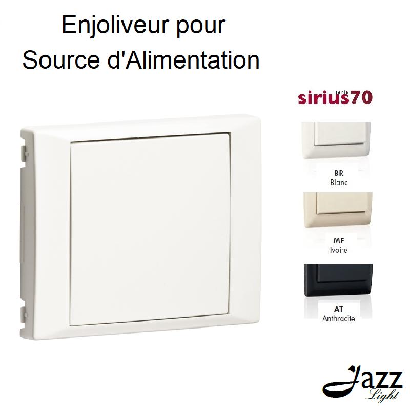 Enjoliveur pour Source d\'Alimentation - Sirius 70