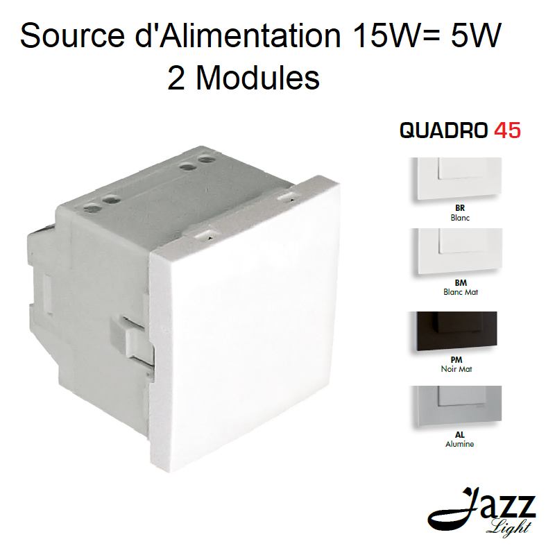 Source d\'Alimentation - 2 Modules Semi-Assemblés - QUADRO 45