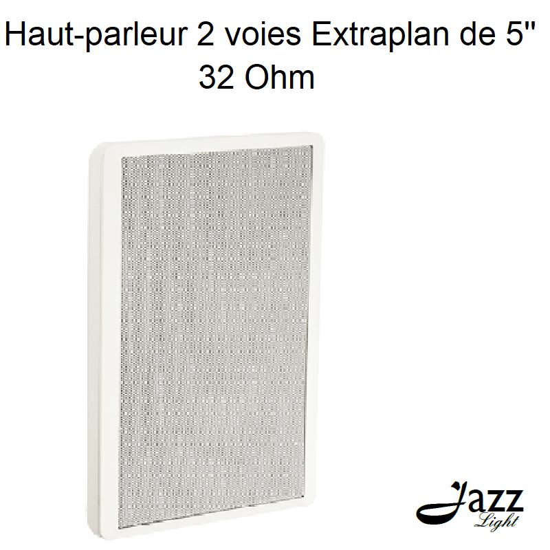 Haut-parleur de 2 voies Extraplan de 5 32 Ohm