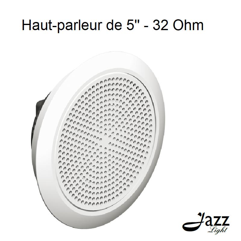 Haut-parleur de 5 à encastrer - 32 Ohm