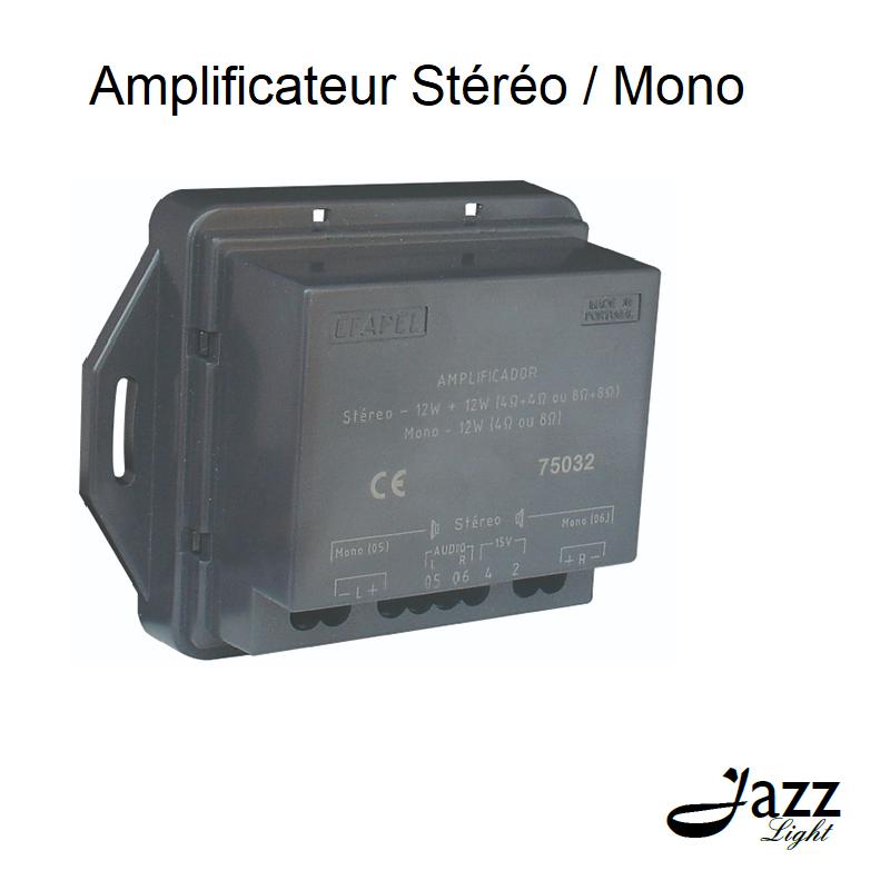 Amplificateur Stéréo/Mono