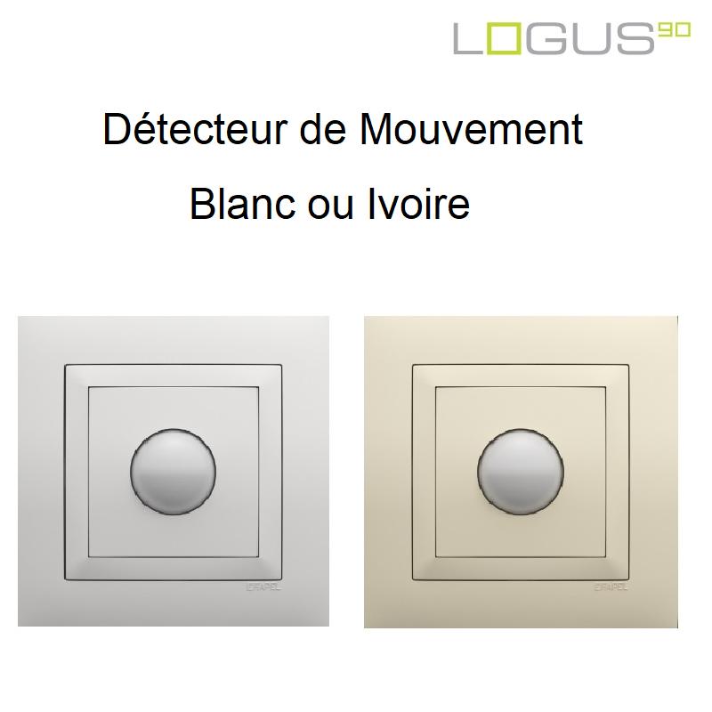 Détecteur de Mouvement BASE LOGUS90 - Blanc ou Ivoire