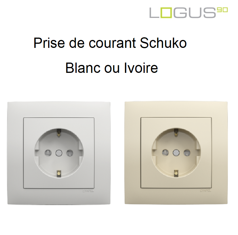 Prise de Courant Schuko - Logus90