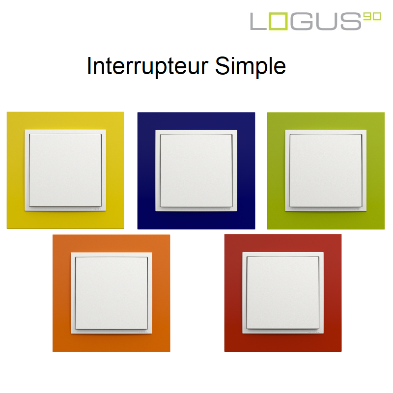 Interrupteur Couleur Animato LOGUS 90