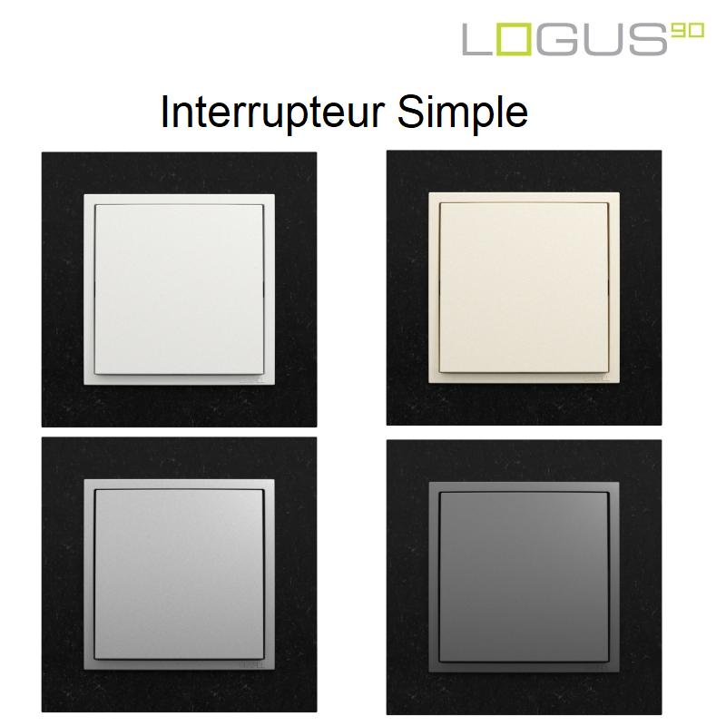 Interrupteur Complet Logus90 PETRA