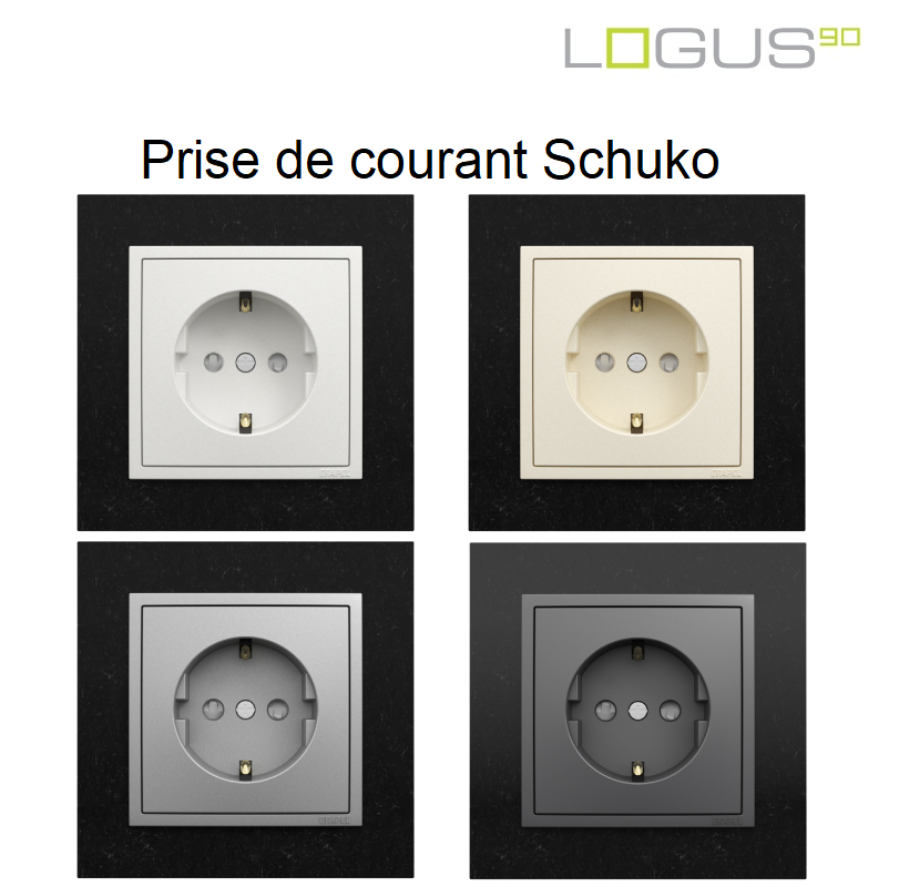 Prise de courant Schuko - Logus90 PETRA