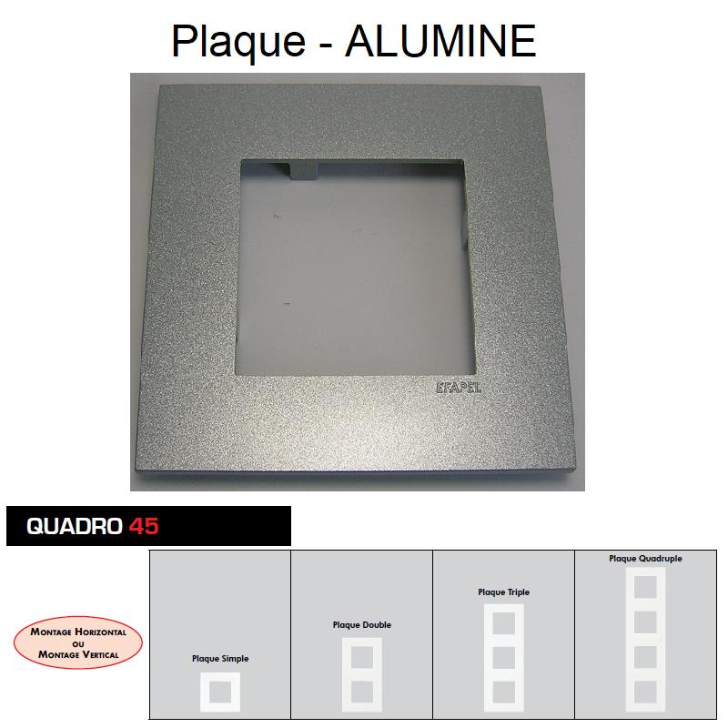 Plaque Quadro45 Alumine