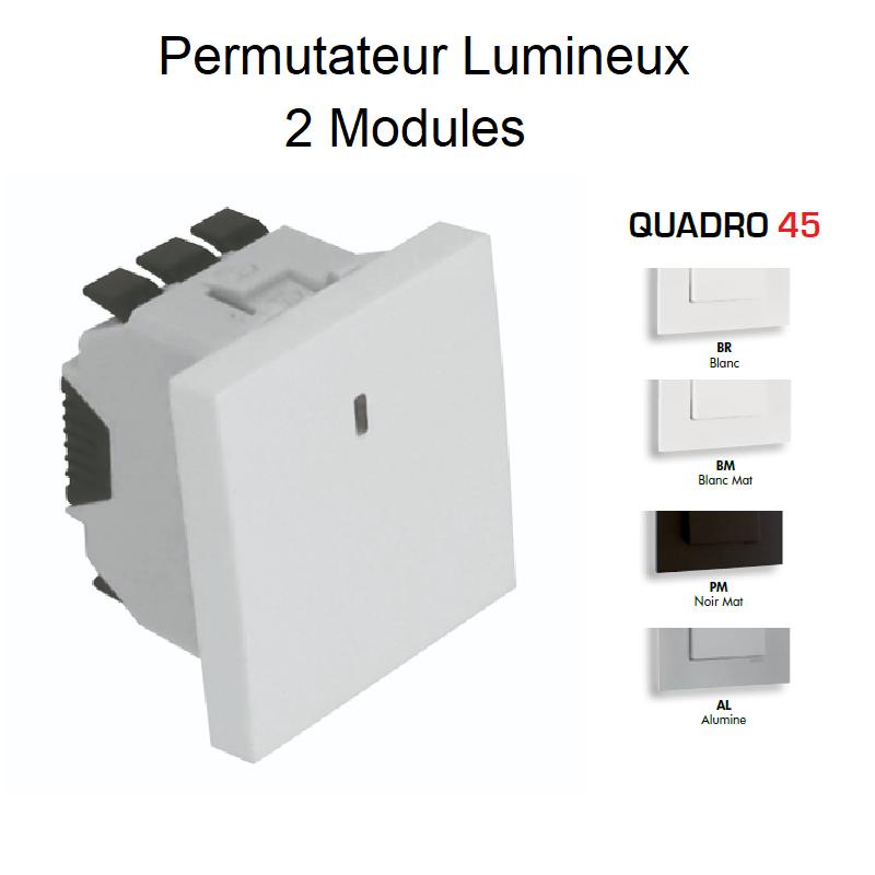 Permutateur Lumineux - 2 Modules QUADRO 45