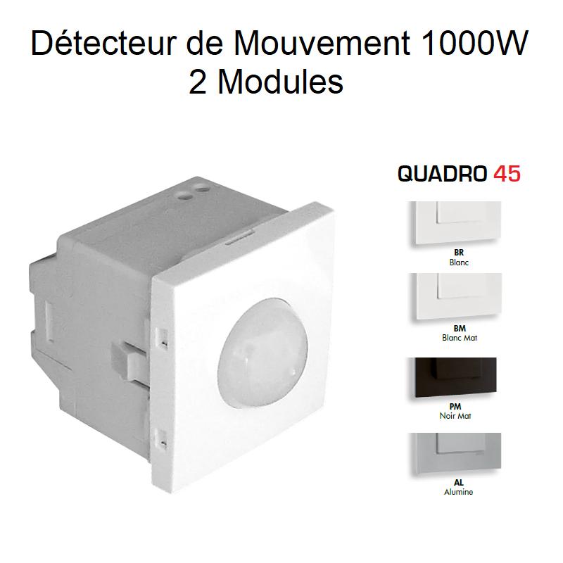 Détecteur de Mouvement de 1000W - 2 Modules QUADRO 45