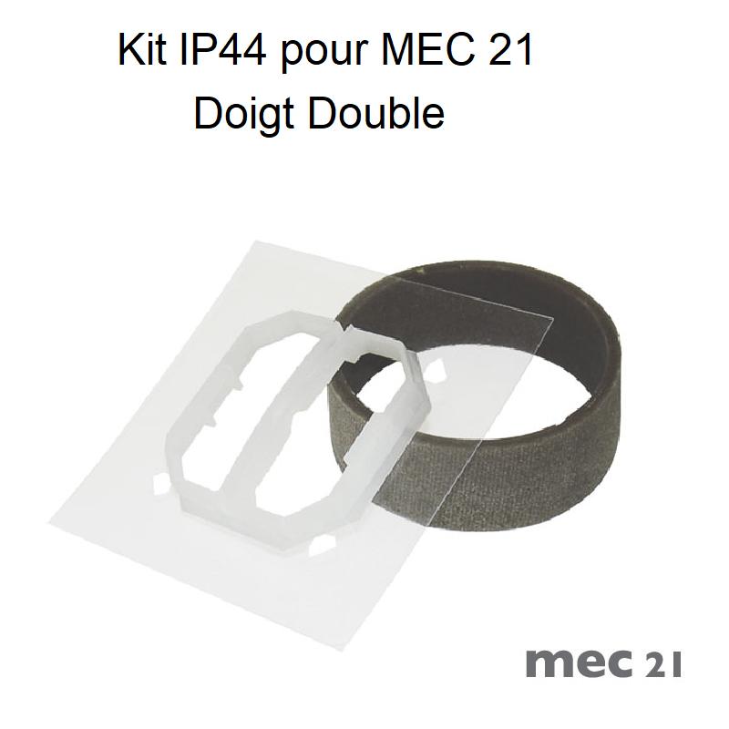 Kit IP44 pour Mécanismes MEC21 - Doigts Doubles
