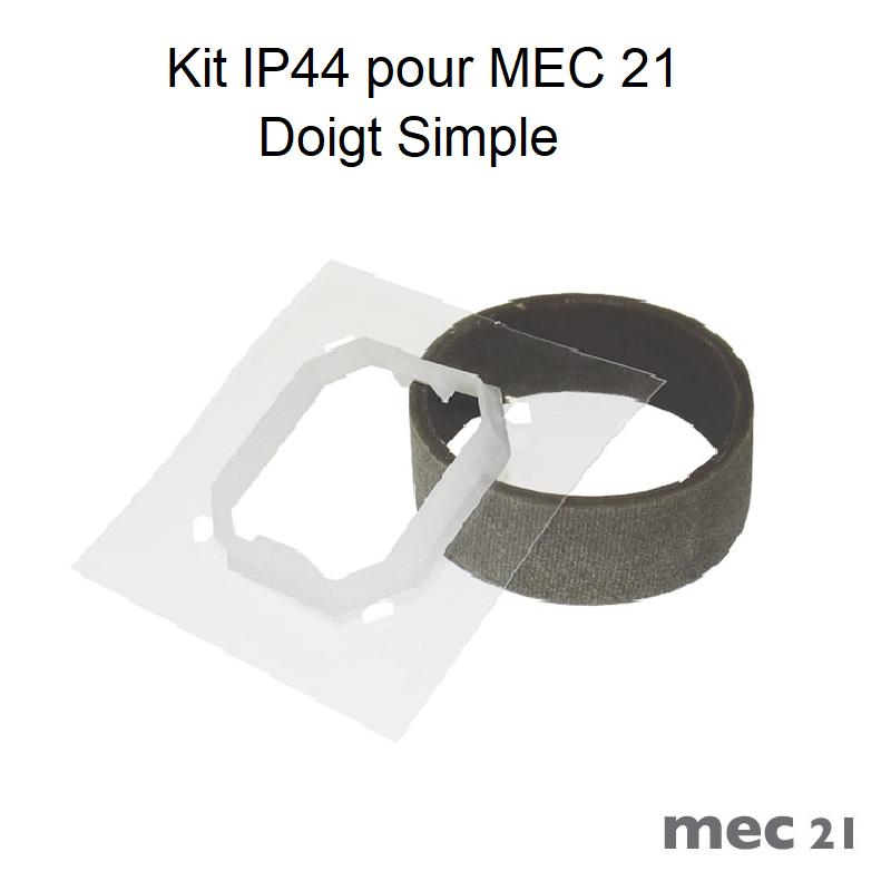 Kit IP44 pour Mécanismes MEC21 - Doigts Simples