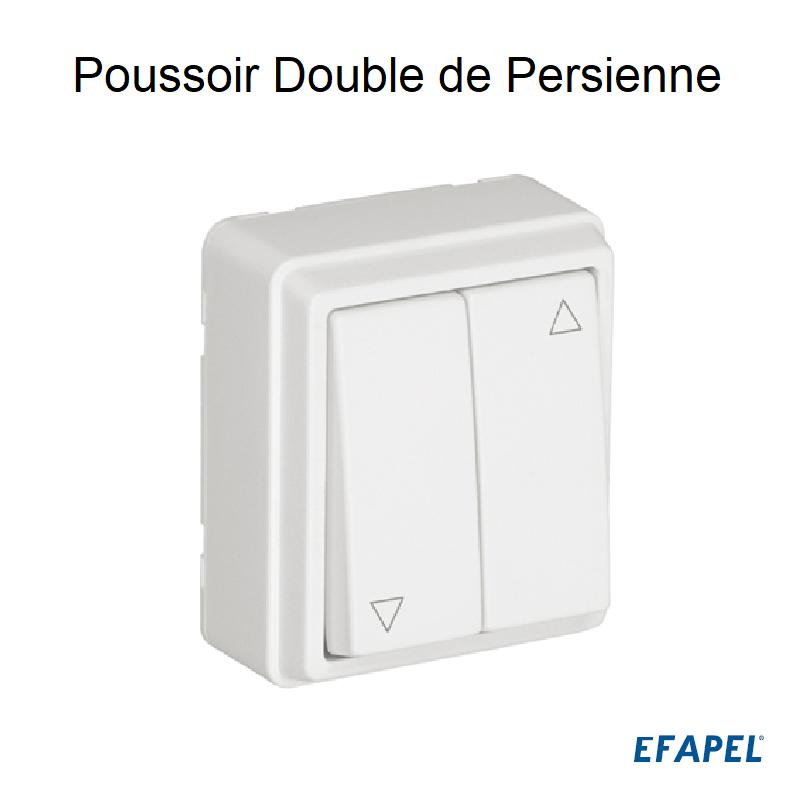 Poussoir Double de Persienne - Série 3700