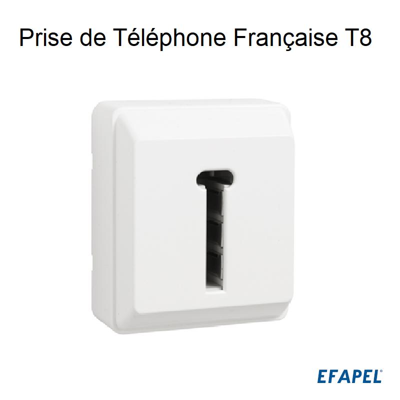 Prise de Téléphone Française T8 - Série 3700