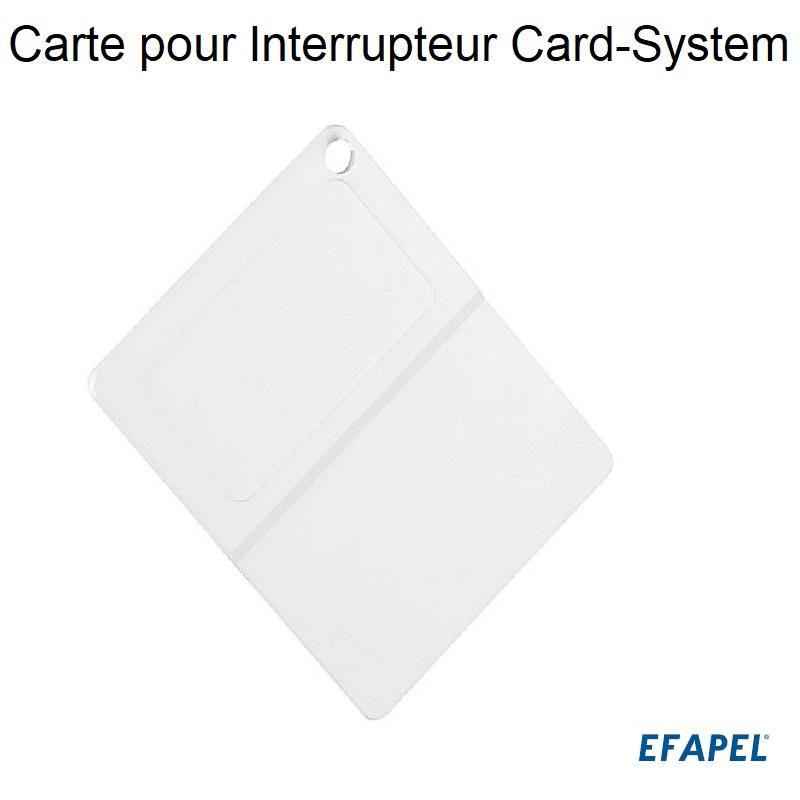 Carte pour Interrupteur Card-system