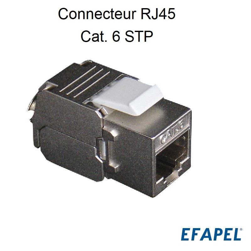 Connecteur RJ45 Cat. 6 STP (250 MHz)