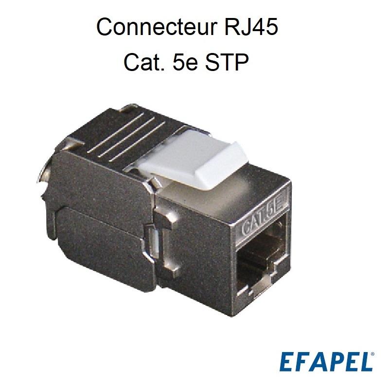 Connecteur RJ45 Cat. 5e STP (100 MHz)