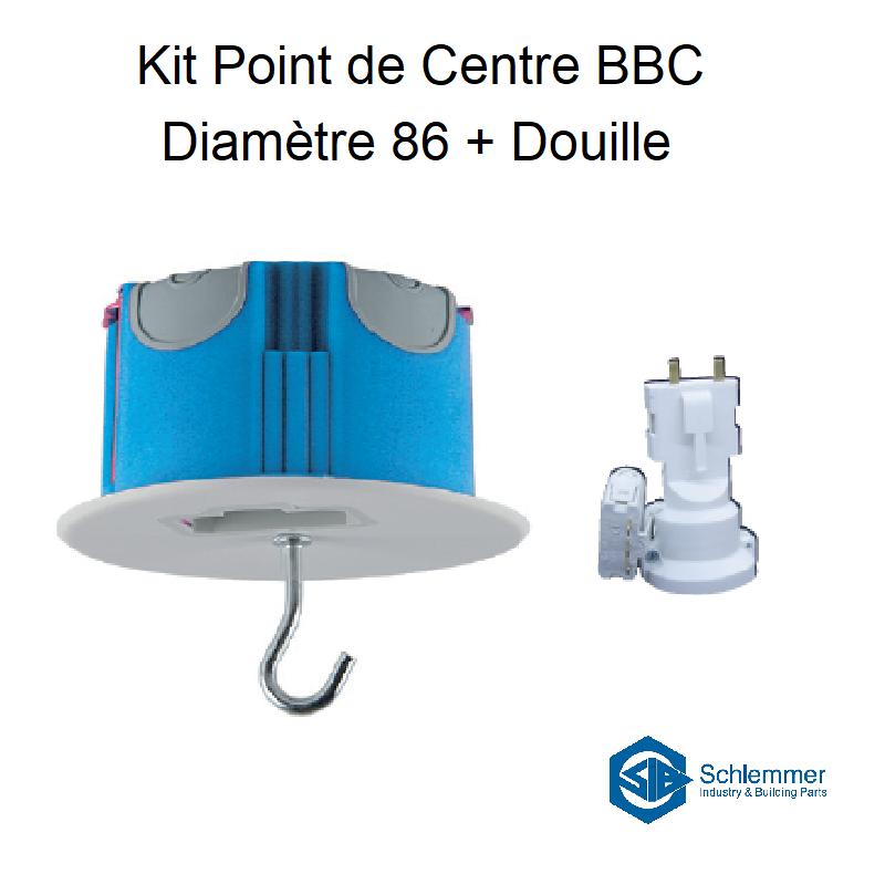 Kit Point de Centre BBC Diamètre 86 + Douille E27