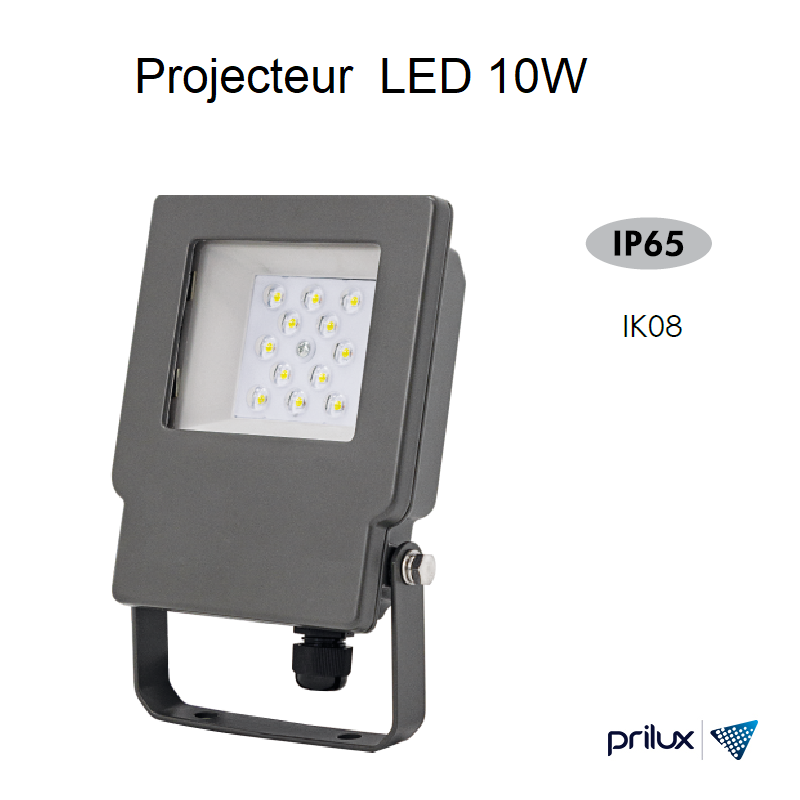 Projecteur LED Energy TECH 10W - 5000 kelvin