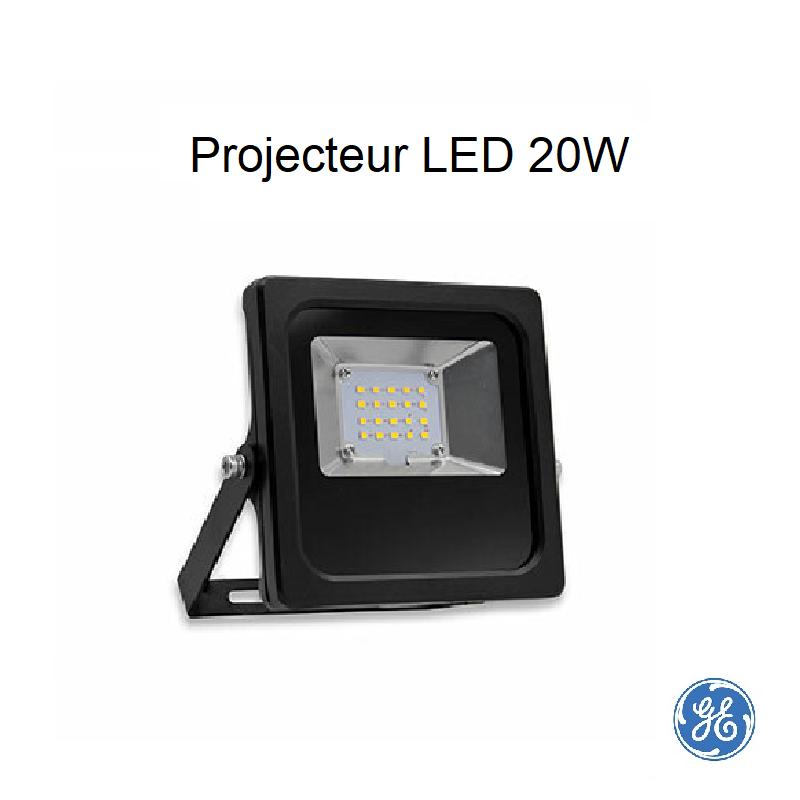 Projecteur LED 20W 2000 lumen 4000 kelvin
