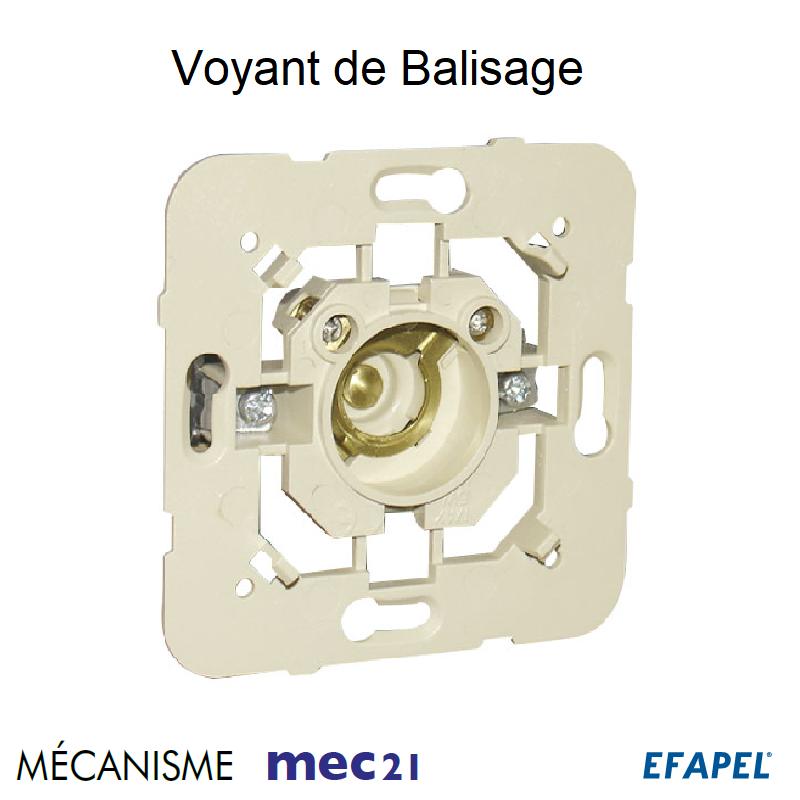 Mécanisme de Voyant de Balisage