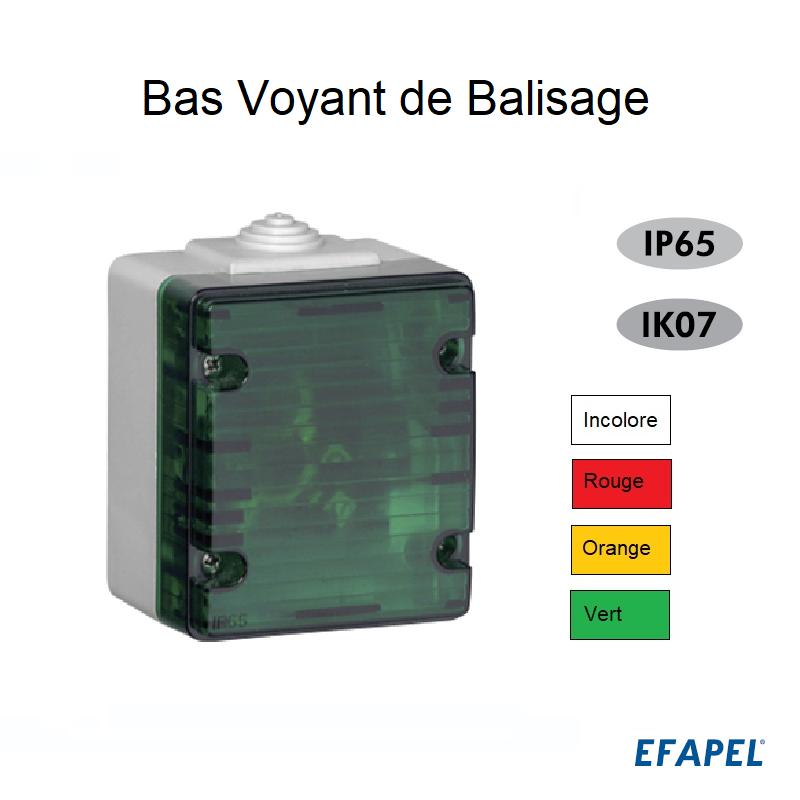 Bas Voyant de Balisage IP65 - ETANCHE 48