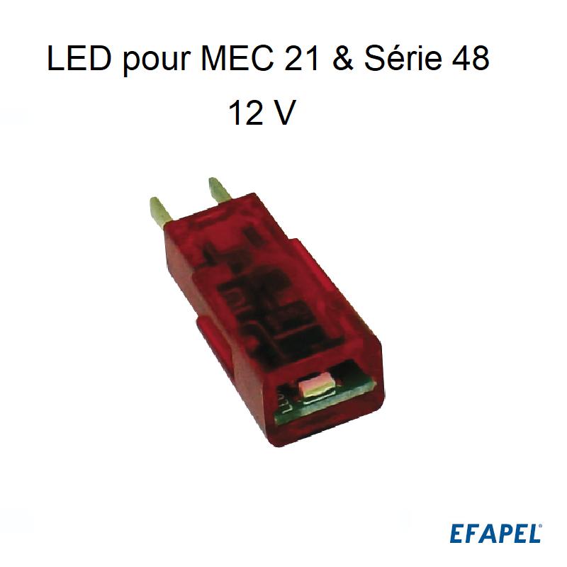 LED pour les Séries MEC21 et Série 48 - 12V