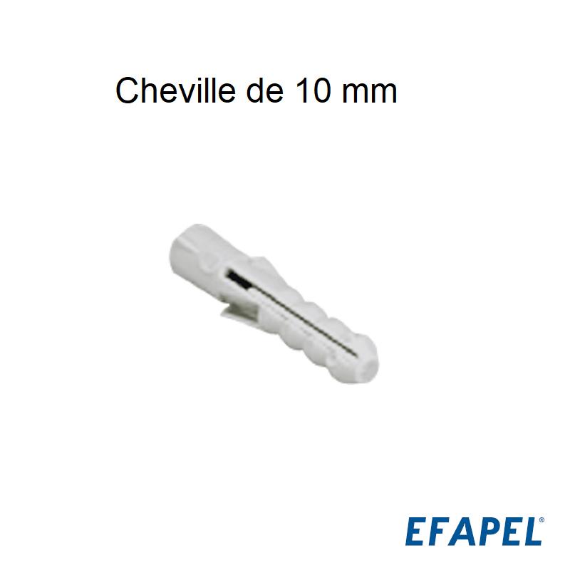 Cheville de 10 mm - Boite de 100