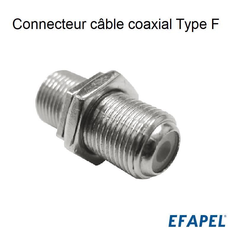 Connecteur câble coaxial Type F