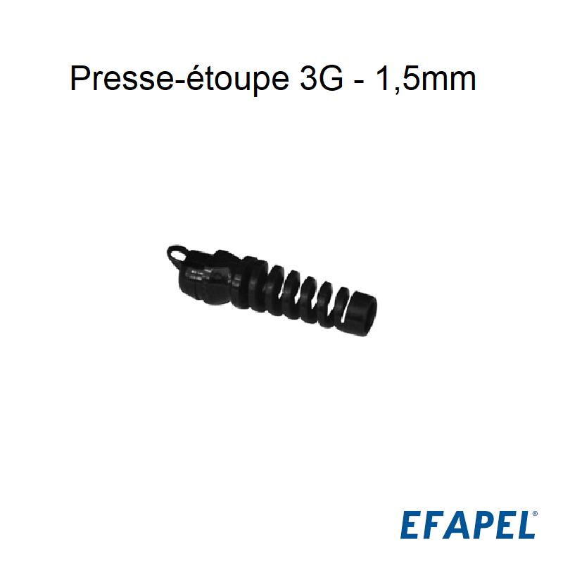 Presse-étoupe 3G 1,5 mm