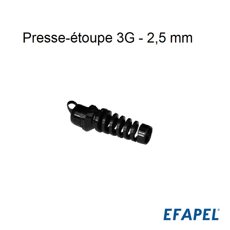 Presse-étoupe 3G 2,5 mm