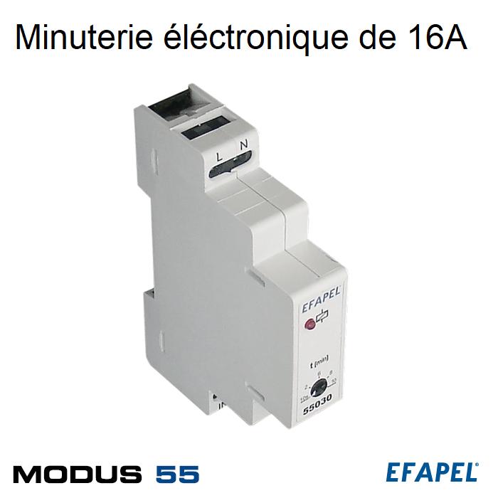 Minuterie électronique 16A