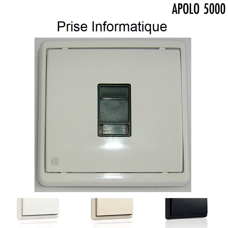 Prise Informatique RJ45 - APOLO5000 Standard ou MAT