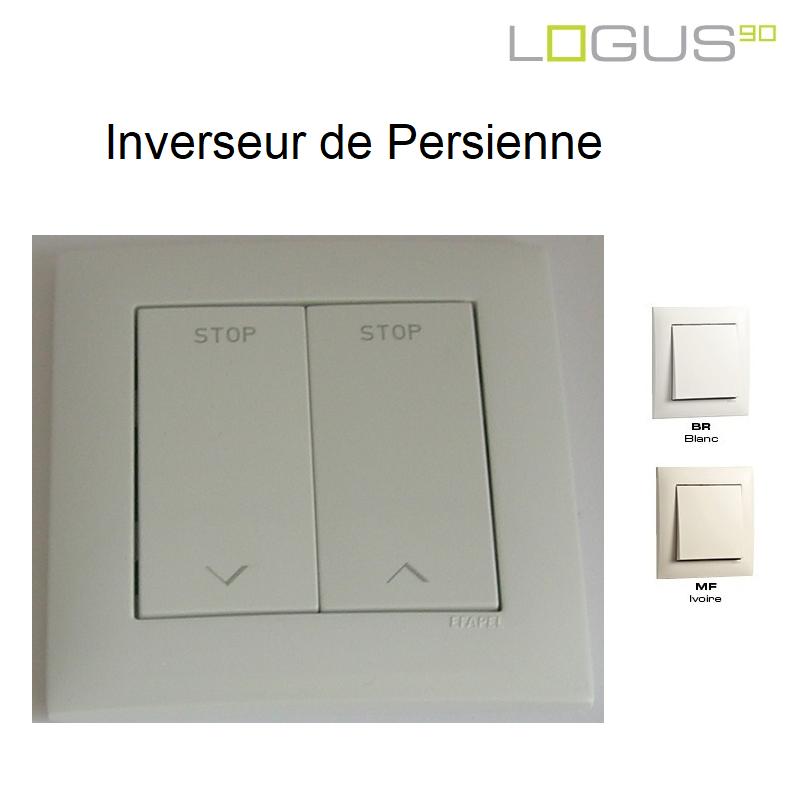 Inverseur de Persienne Logus90 Blanc ou Ivoire