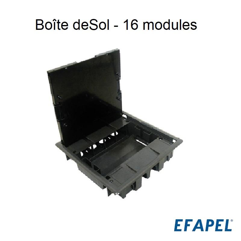 Boîte de Sol - 16 modules