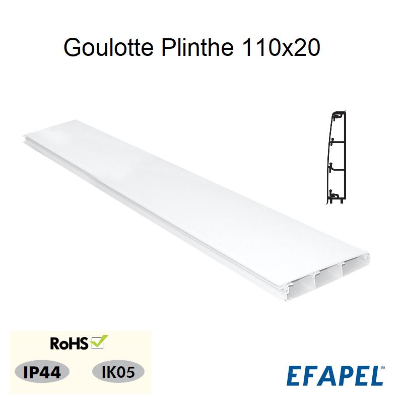 Goulotte Plinthe 110x20