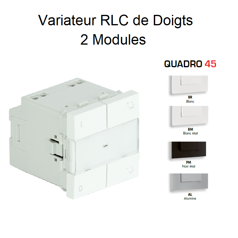Variateur RLC de Doigts - 2 Modules Quadro 45