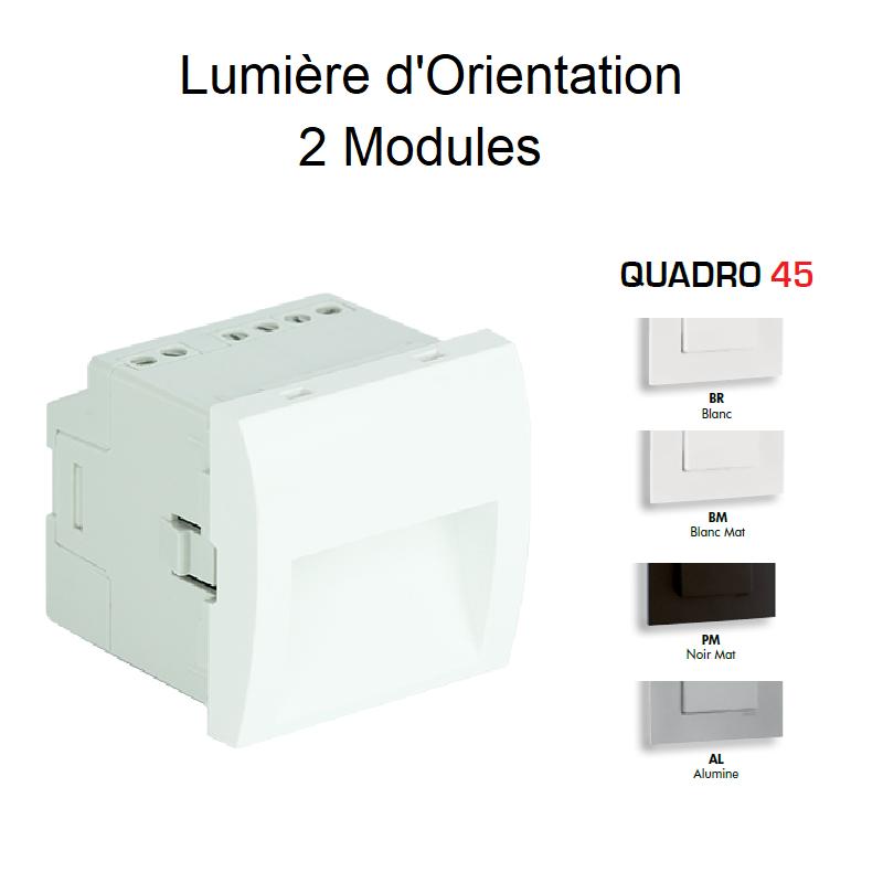 Lumière d\'Orientation - 2 Modules Quadro 45