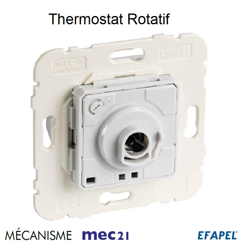 Mécanisme de Thermostat Rotatif